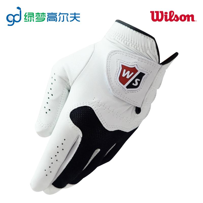 wilson高尔夫手套 男conform glove 小羊皮手套