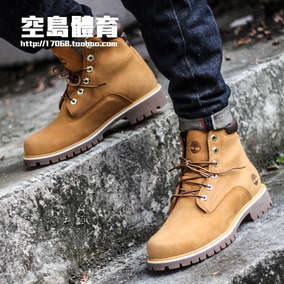 Timberland添柏岚 户外防水6英寸高帮靴黄靴 37578 A1ODR A1NFP