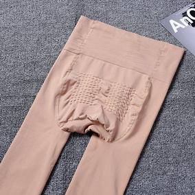 2条装 中厚丝袜女春秋款 微压薄款防勾丝高腰大码肉色打底连裤袜
