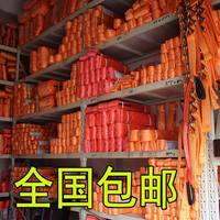 Flat lifting slings Industrial sling trailer belts Double buckles Color polyester slings Crane ropes
