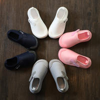 Baby home shoes kindergarten indoor shoes girls two cotton shoes boys cotton shoes 2019 new winter plus velvet thickening