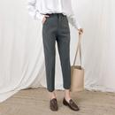 职业韩版筒裤