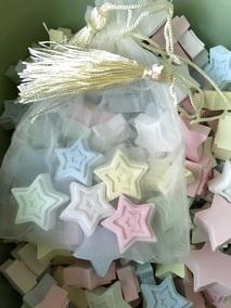 爱心扩香石配五色小星星抽屉礼品盒多色选淳风芳香独家开发香氛石