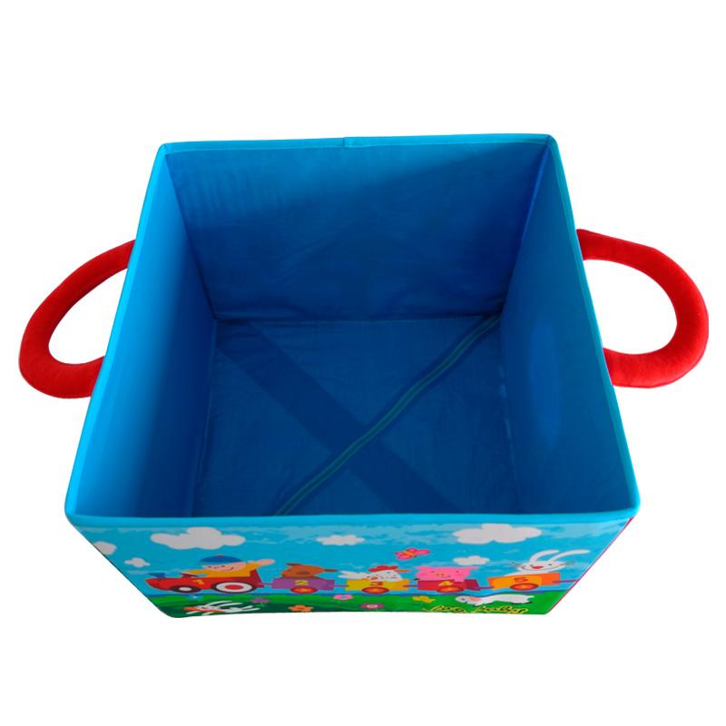 拉拉布书储物箱宝宝玩具收纳箱大容量可折叠