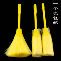 Anti-static hair brush cleans Buddha idol shrines dust clean Buddha dust Sweep single price