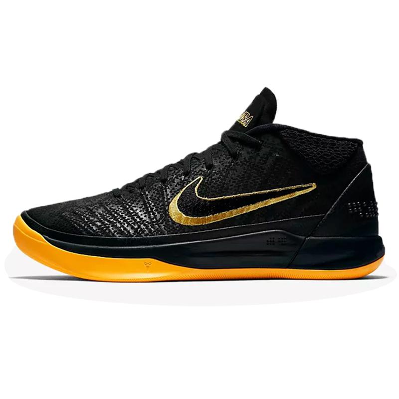 耐克男鞋2018秋新款科比黑曼巴湖人实战耐磨运动篮球鞋AQ5163-001