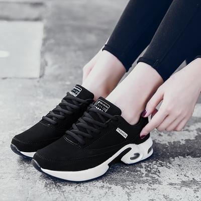 工作舒服女鞋不累久站脚 软底女人秋天的鞋子防水女新款运动鞋潮