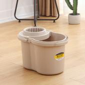 手压拖把桶挤水桶加厚塑料长方形拖地桶家用老式拖把挤水器沥水桶