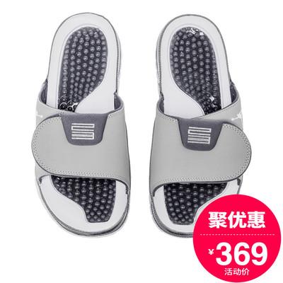 耐克拖鞋男2018夏季新款AJ11运动户外沙滩鞋防滑凉拖AA1336-004
