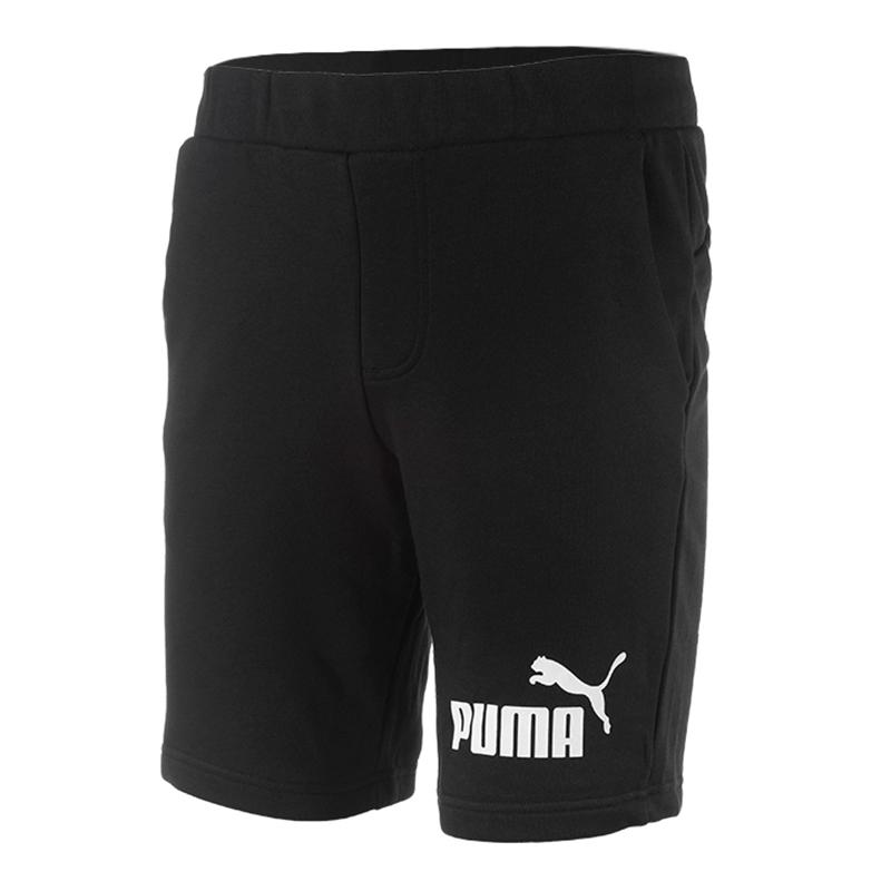 PUMA彪马套装男2018夏季新款运动休闲圆领短袖T恤透气短裤五分裤