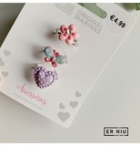 Er Niu. Three adjustable children's rings