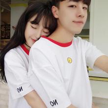 2018情侣短袖t恤韩范9.9元包邮特价创意3D男女?#36335;?#38738;少年学生班服