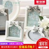 米子家居 创意韩式婚纱照相框宝宝相架摆台5/6/7/10寸组合相片框