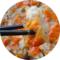 宁波海鲜特产 手工腌制舟山红膏梭子蟹糊 蟹酱呛蟹咸蟹块限区包邮