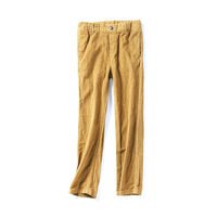 39422 Spring and Autumn New Children's Wear Korean Girls Simple Elastic Waist Wild Corduroy Casual Pants October 23