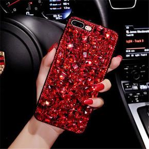 红米5手机壳水钻红米5Plus保护壳红米4A镶钻小米note外壳防摔女款