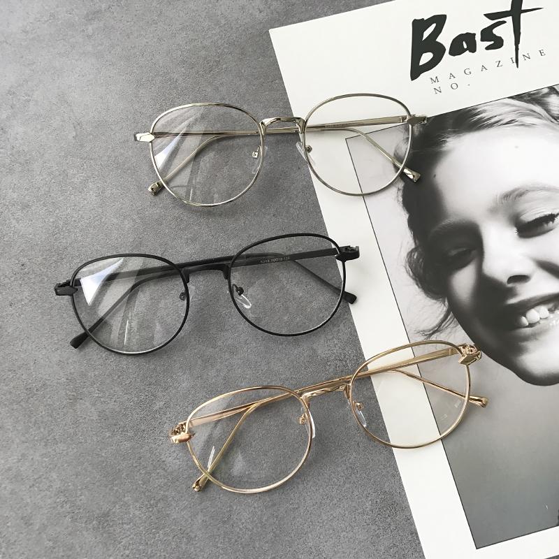金属细框眼镜框