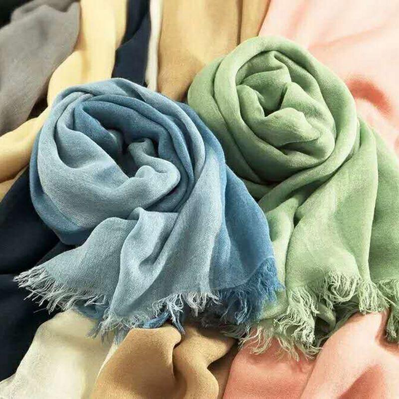 双色大围巾