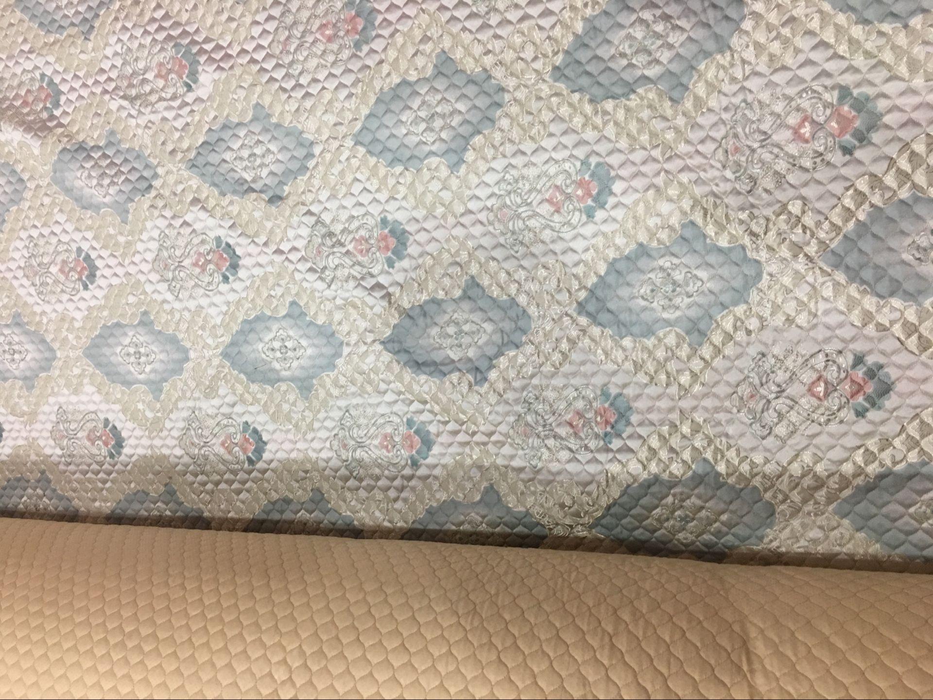 沙發墊布料面料夾棉布料防滑絎縫布沙發布加厚沙發套布清倉圖片