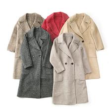 Winter new wool double-sided Ni coat #AQNY-W18058