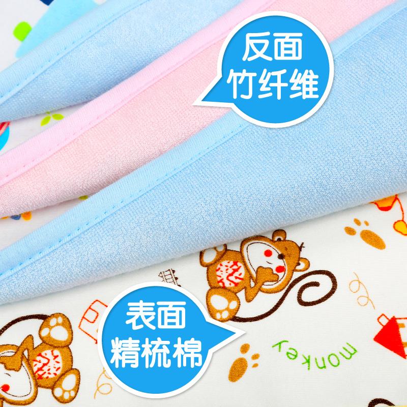 婴儿隔尿垫防水超大号透气可洗姨妈月经床垫新生儿童宝宝用品防尿1元优惠券