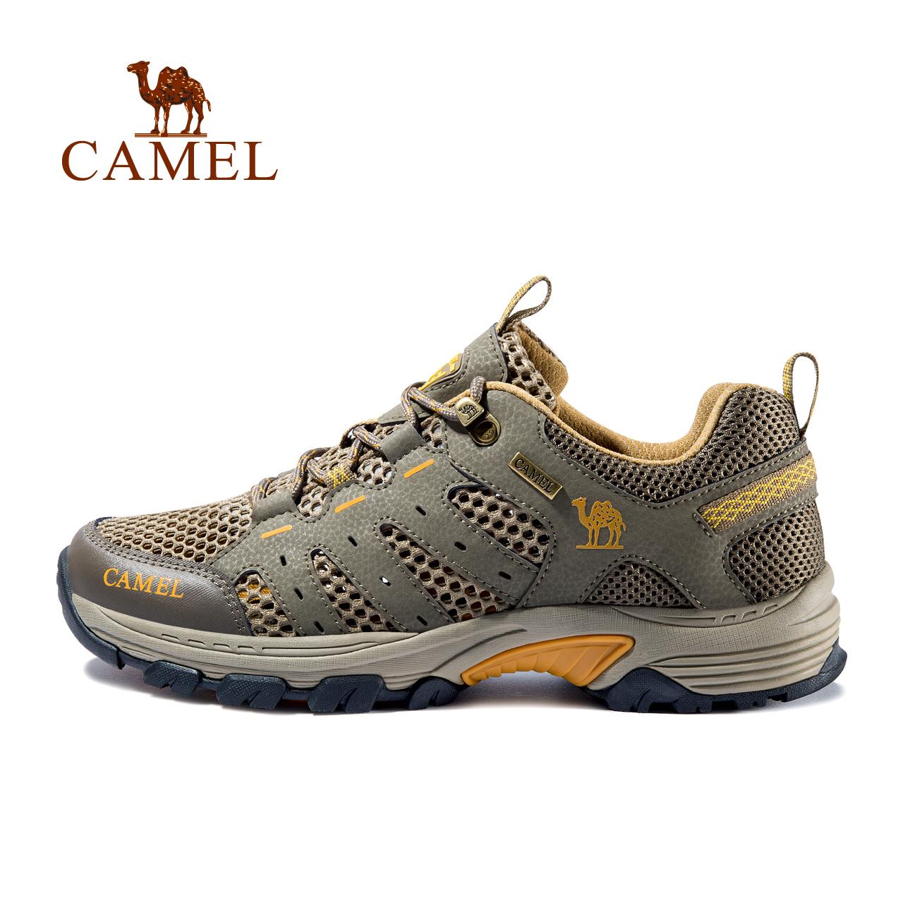 【2019新品】駱駝戶外登山鞋男女輕便透氣防滑耐磨旅游爬山徒步鞋