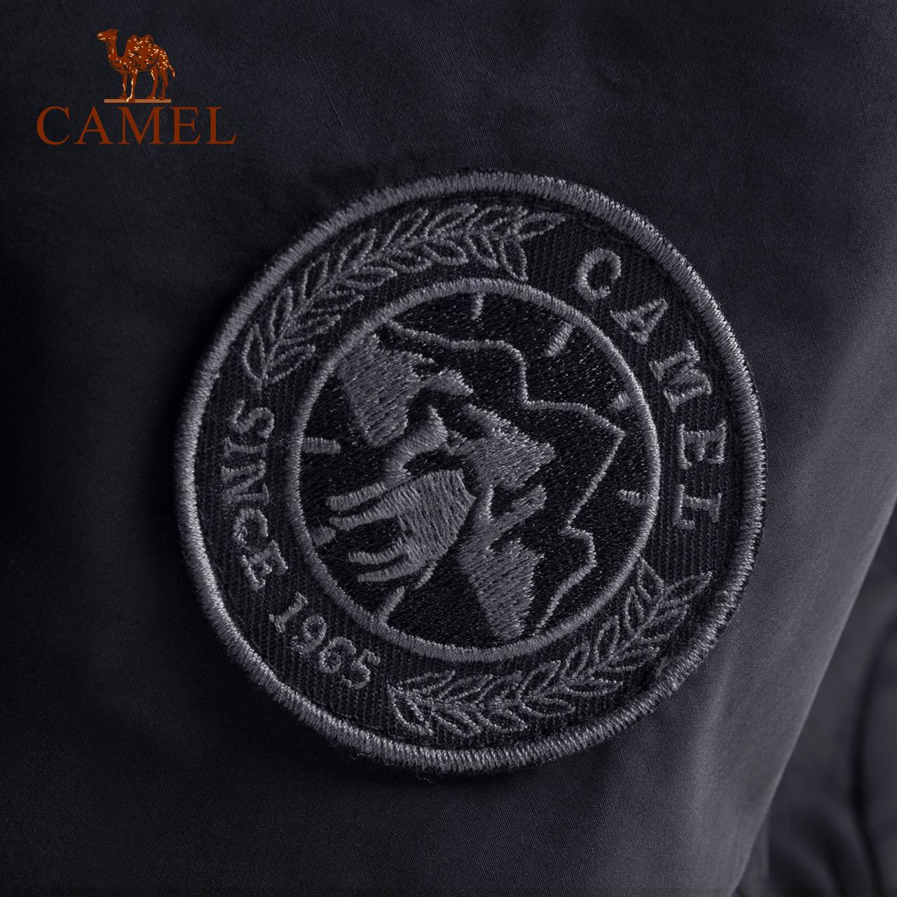 CAMEL/骆驼户外休闲衣男 防泼水防风男款户外夹克简约保暖休闲服