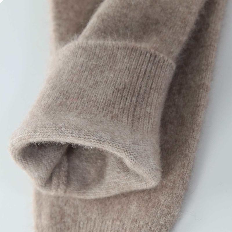 加厚純羊毛棉褲