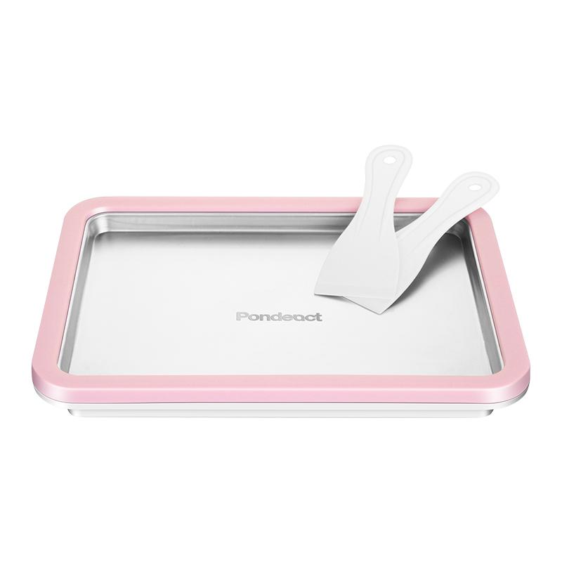 家用炒酸奶机儿童雪糕卷炒冰机多功能冰激凌淋机冰盘不锈钢免插电