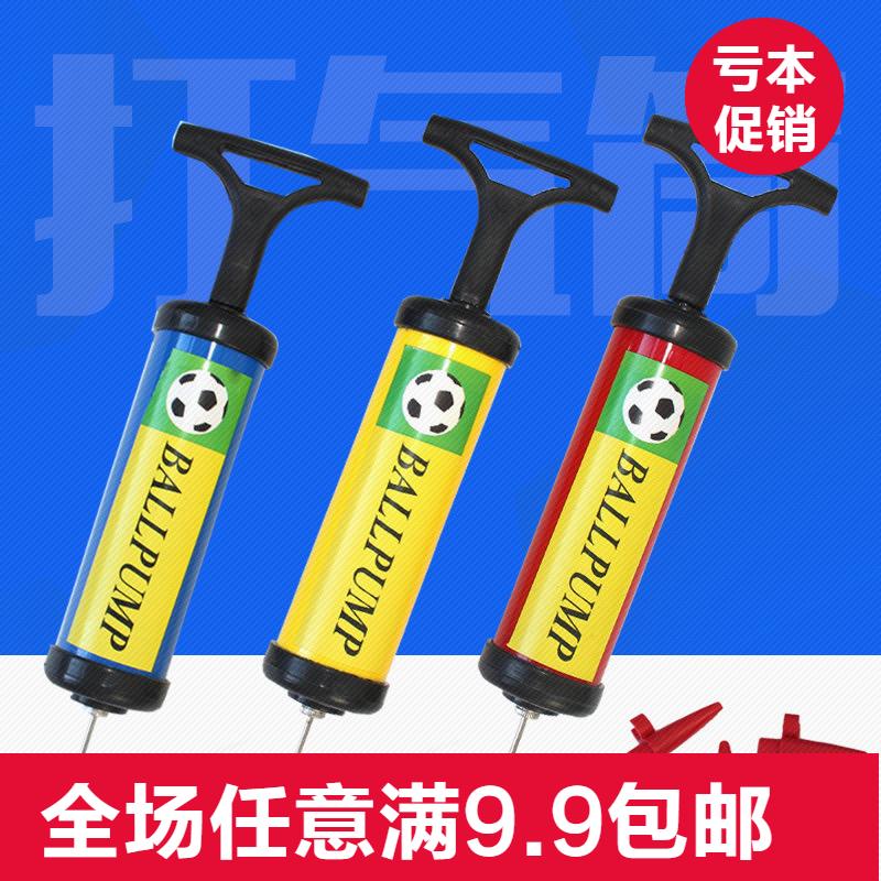 6寸手推式气球充气筒 玩具球类打气筒带气针