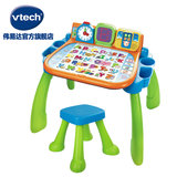 VTech VTech tap sit-in learning table early-school point reading touch card children's game table toy table 3-6 years old