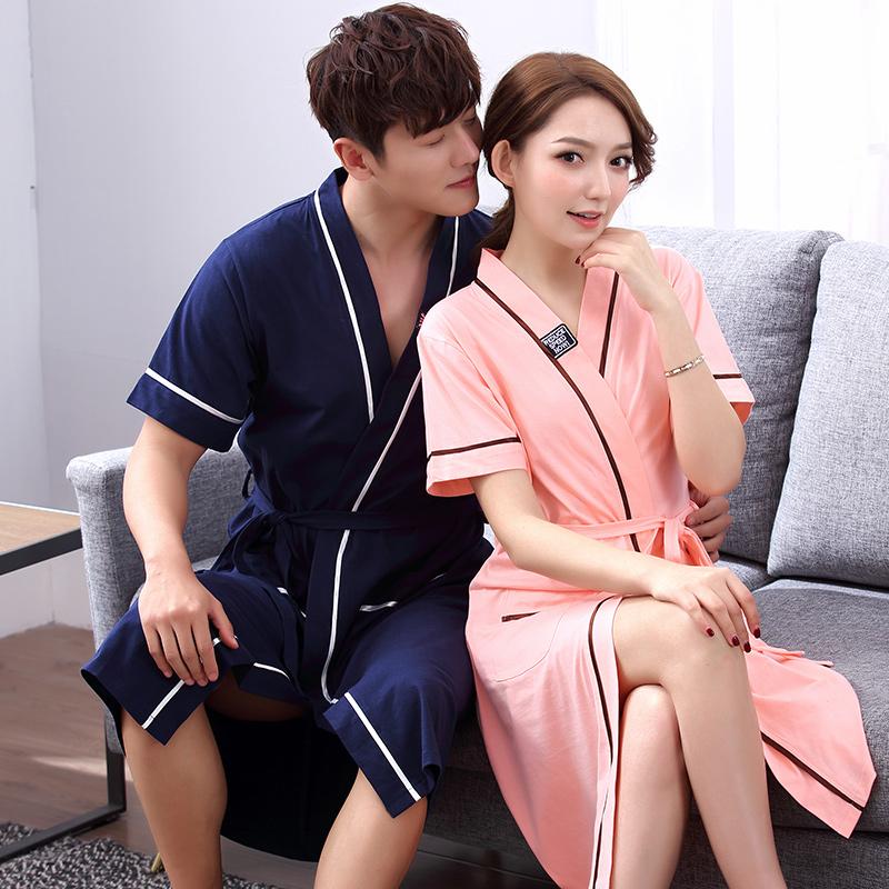 女士日式睡袍