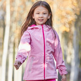 Pathfinder plus velvet jacket children autumn and winter outdoor boys and girls big children soft shell clothing QAEG93078-CC1X