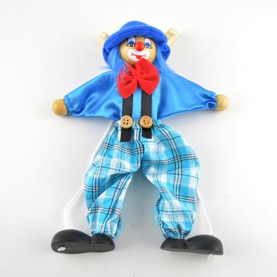 木头人提线木偶吊线制作牵线拉线扯线傀儡手动人形玩偶表演模型人