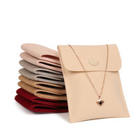 Jewelry bag velvet bag purse bag snap bag thickening fine velvet ring necklace jewelry storage bag wholesale