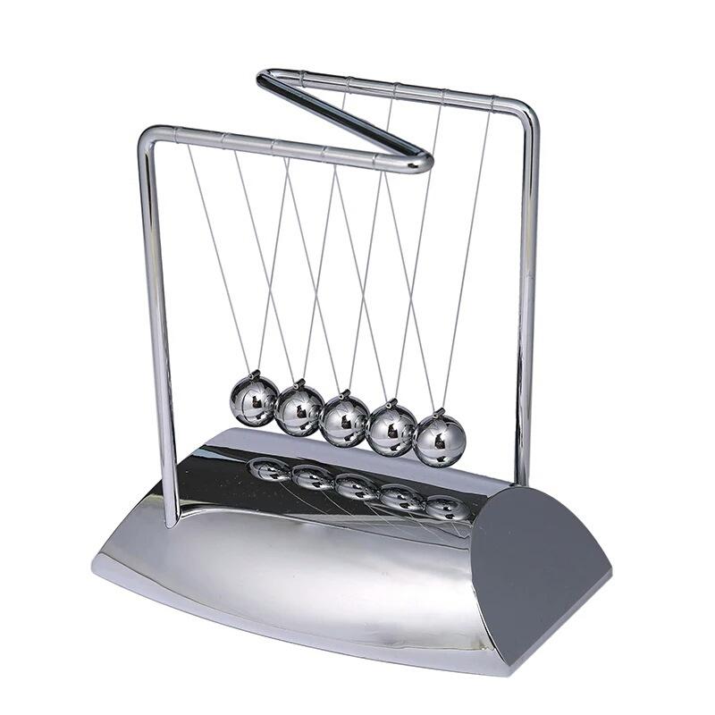 牛顿球混沌摆撞击玩具桌面科技摆件减压催眠玩具有创意的生日礼物