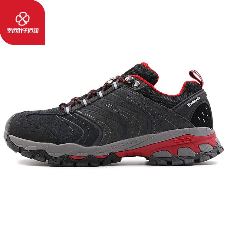 探路者女鞋2019季新款户外防滑耐磨徒步越野鞋登山鞋KFAF92314