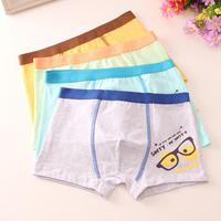 Cotton children's underwear boys 3 boxers 4 cotton 5 four corners 6 big children 7 boys 8 pupils 10-12 years old