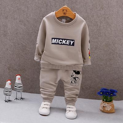 男童套装2018新款春装卫衣2潮3儿童1宝宝韩版秋季长袖5两件套4岁6