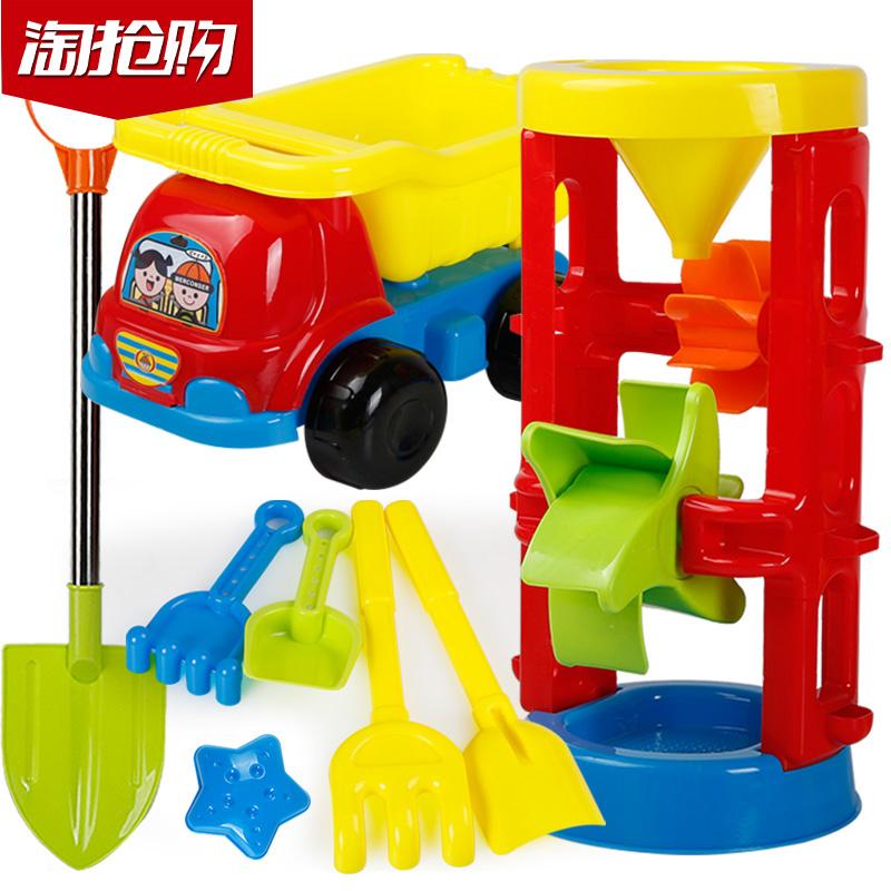 沙滩车玩具玩沙工具