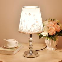 仿古典台灯中国风禅意书房台灯LED新中式台灯圆形卧室床头灯禅式