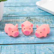 Literary wind cute powder girl pig toy venting whole person pinch called cartoon powder pig decoration children's toys