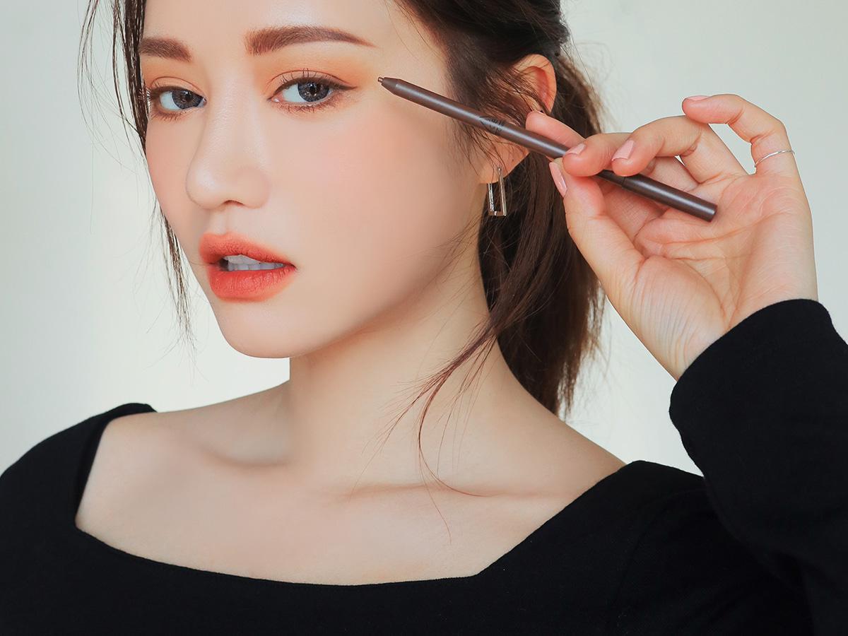 3ce韩国免税店采购正品3ce眼线笔固体眉笔牢靠好画适合新手易上手