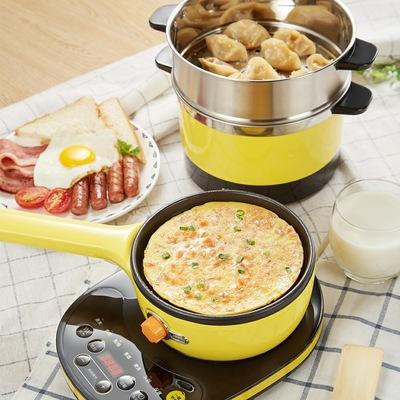 小熊煮蛋器蒸蛋器家用分體式多功能不粘電煎蛋鍋煮面鍋智能早餐機有實體店嗎