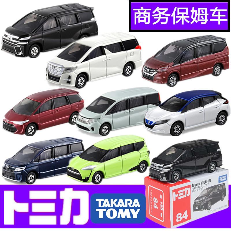 Tomy 多美卡 合金车 MPV商务车 本田 Honda Toyota丰田部分可开门