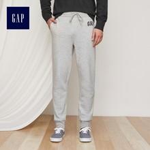 男士 852043 Gap男装 加绒束脚运动卫裤 休闲logo收脚裤