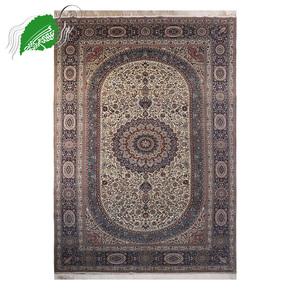 亿丝手工真丝高密度手工地毯、欧美风格手工地毯