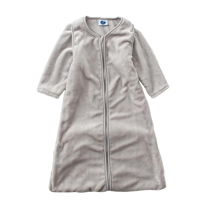 男童女童初生儿防踢被折叠下摆可脱卸袖口宝宝春秋四季一体式睡袋