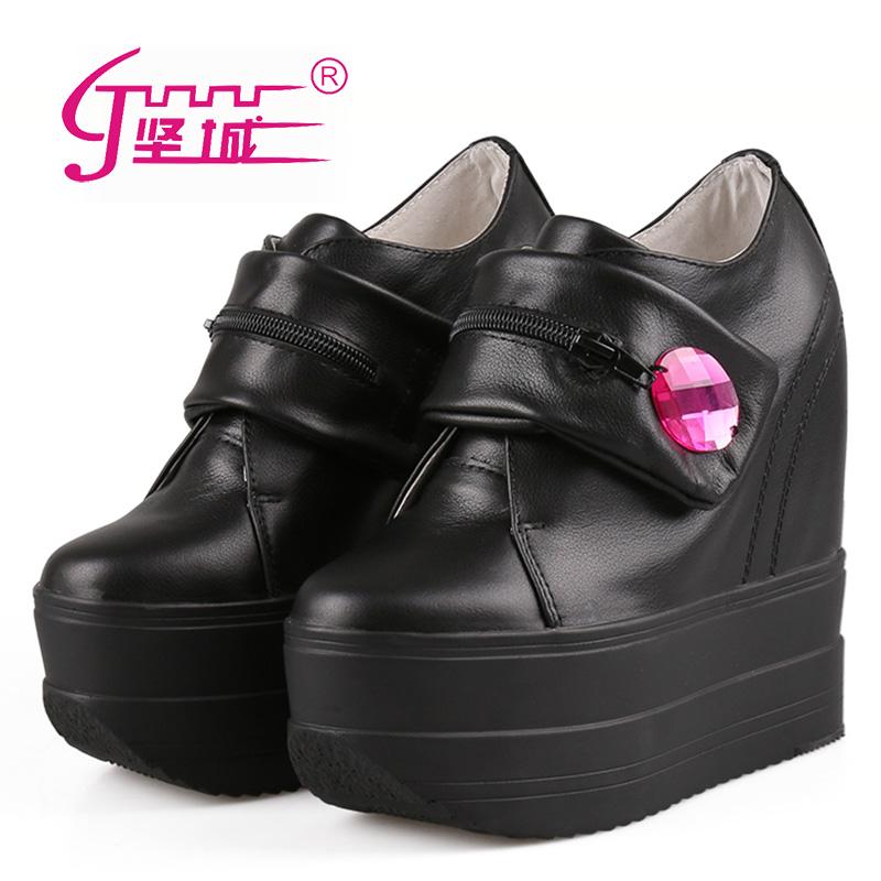 隐形防水台女鞋