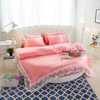 圆形床罩四件套